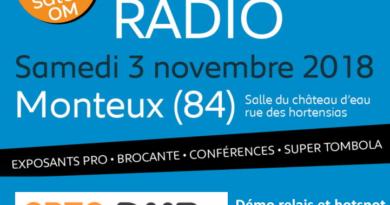 Open-DMR à Monteux 2018, démos et ateliers sur les modes numériques MMDVM